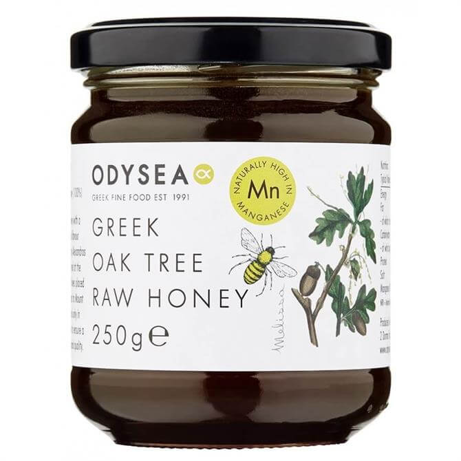 Odysea Greek Oak Tree Raw Honey Limited Edition 250g