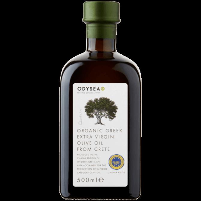 Odysea Organic Greek Extra Virgin Olive Oil From Crete 500ml