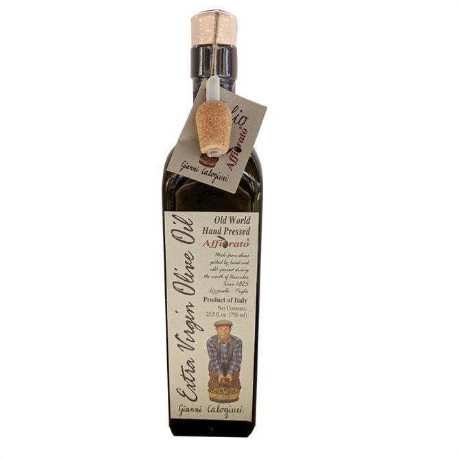 Affiorato Extra Virgin Olive Oil Hand Pressed 750ml