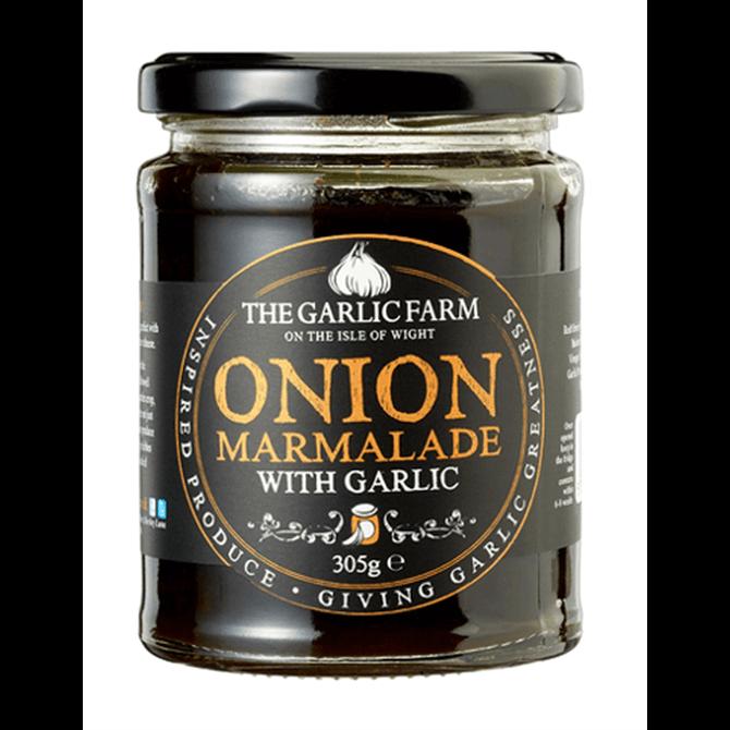 The Garlic Farm- Onion Marmalade with Garlic 305g