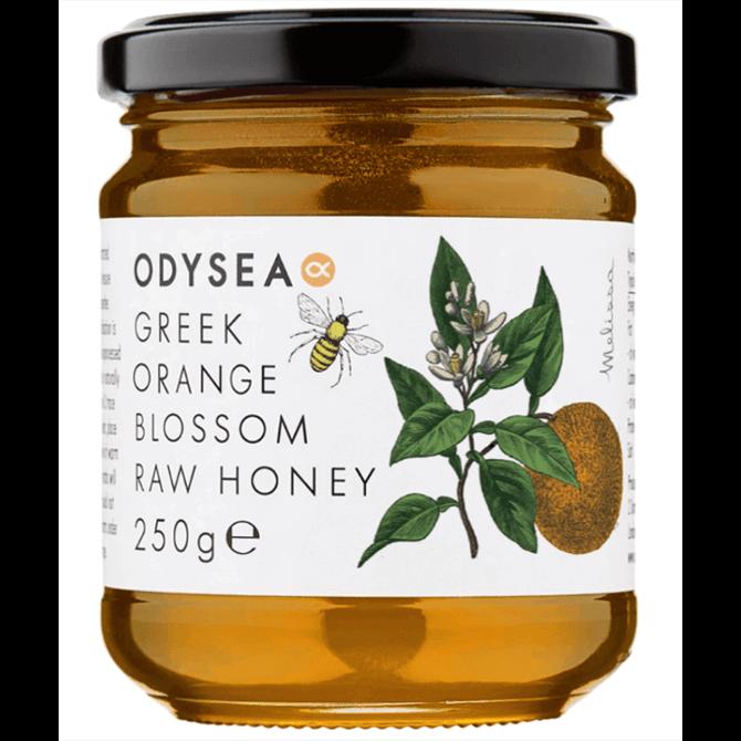 Odysea Greek Raw Orange Blossom Honey Limited Edition 250g