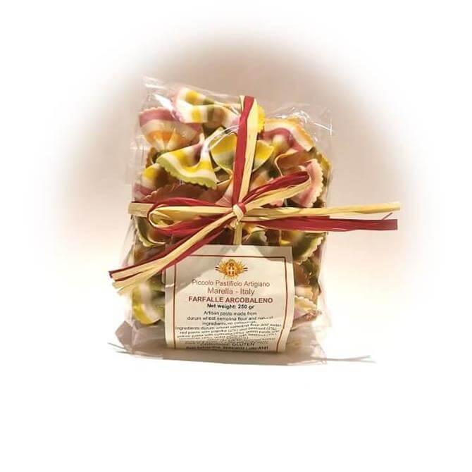 Piccolo Pastificio Artigiano Farfalline Arcobaleno Bows 250g