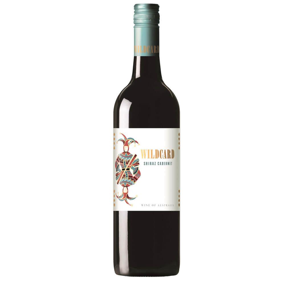 An image of Peter Lehmann Wildcard, Shiraz Cabernet Red Wine, 2017