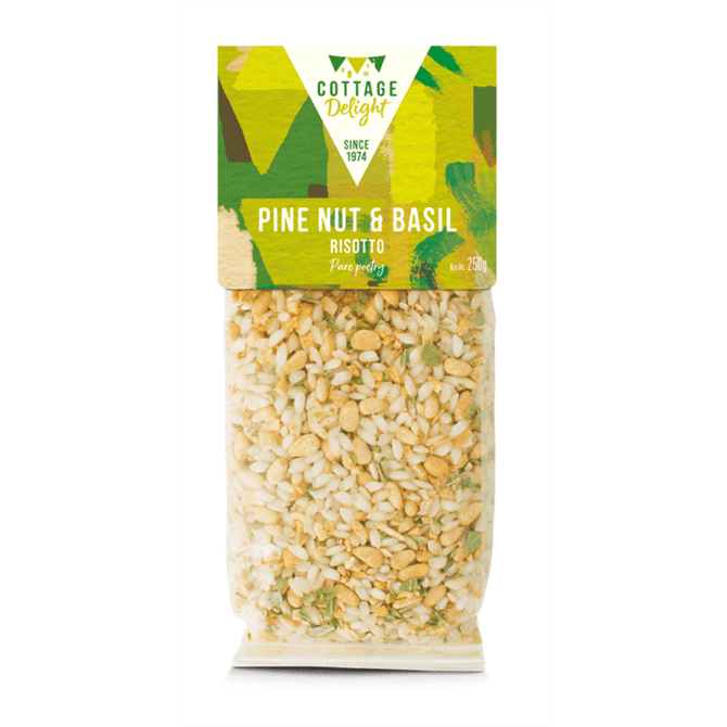 Cottage Delight Pine Nut & Basil Risotto 250g