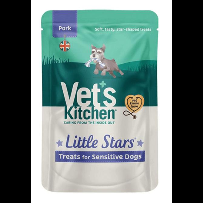 Vet's Kitchen Little Stars Pork Dog Treats 80g