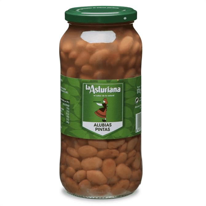 La Asturiana Cooked Pinta Beans 400G