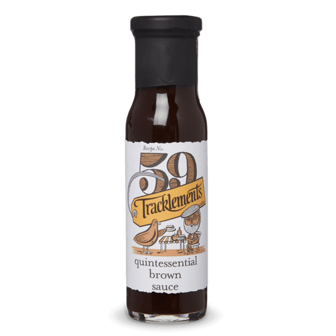 Tracklements Quintessential Brown Sauce 230ml