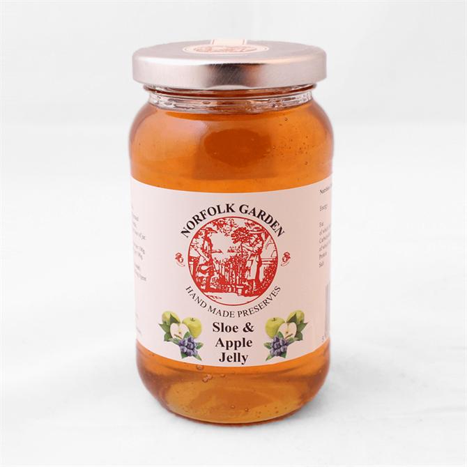 Norfolk Garden Preserved Sloe and Apple Jelly 454g