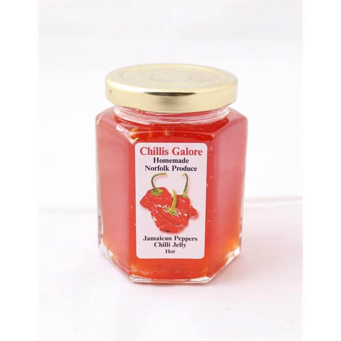 Chillis Galore Jamaican Peppers Chilli Jelly Hot