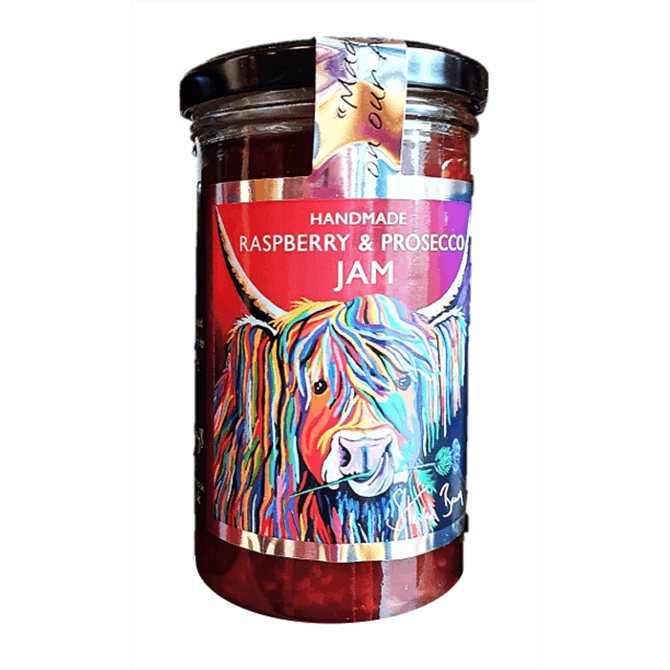 Sarah Gray's Handmade Raspberry & Prosecco Jam 300g