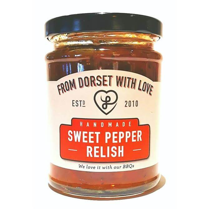 From Dorset with Love Handmade Sweet Pepper Relish 280g