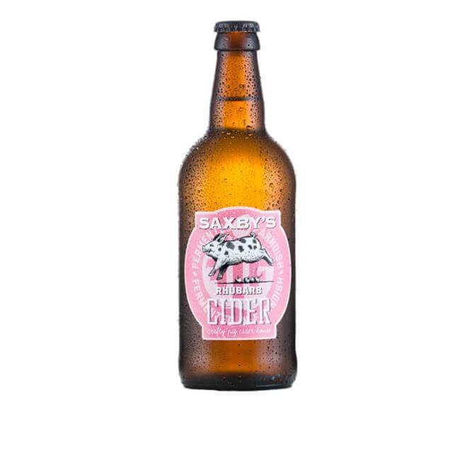Saxby's Rhubarb Cider 500ml