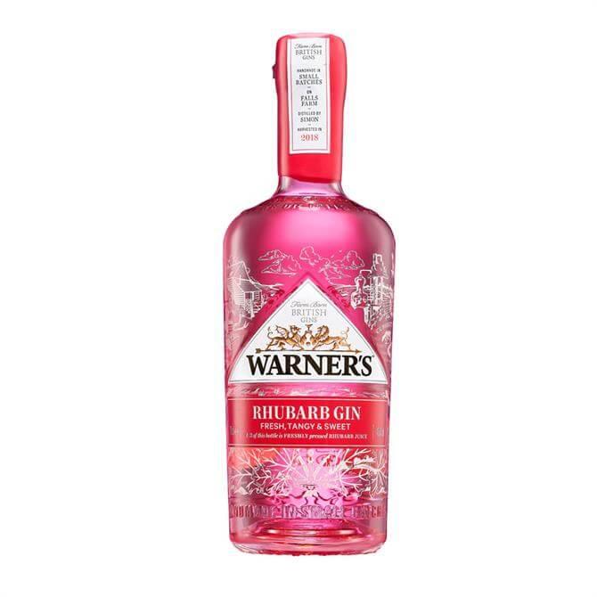 Warners Rhubarb Gin 70cl