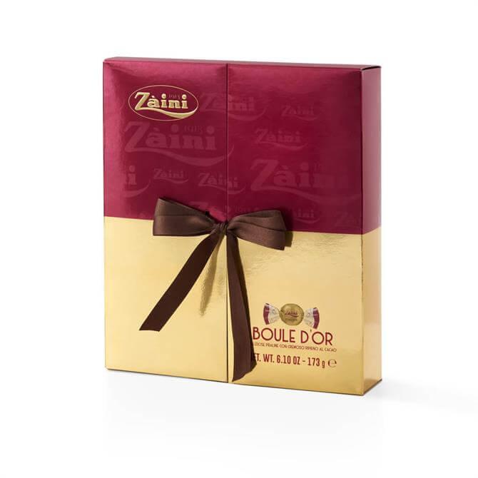 ZAINI BOULE D'OR DARK CHOCOLATE PRALINES GIFT BOX 173G