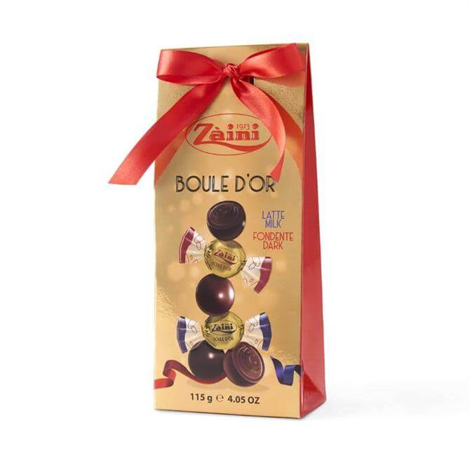 Zaini Boule D'OR Milk & Dark Chocolate Balls 115G