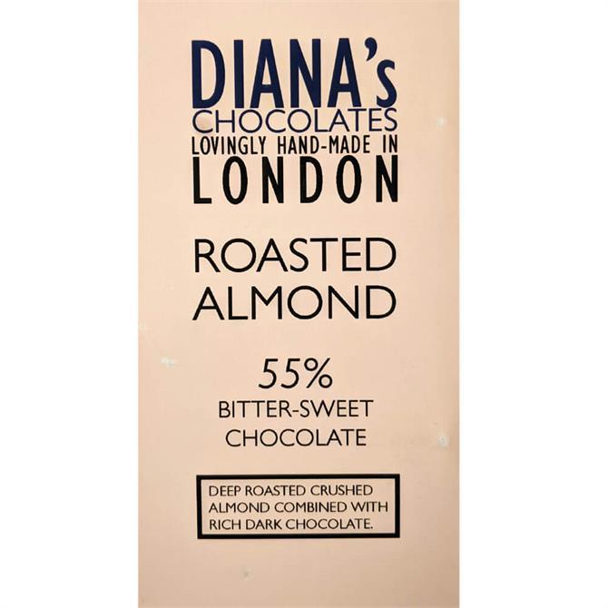 Diana's Chocolates Roasted Almond Dairy Free 100g