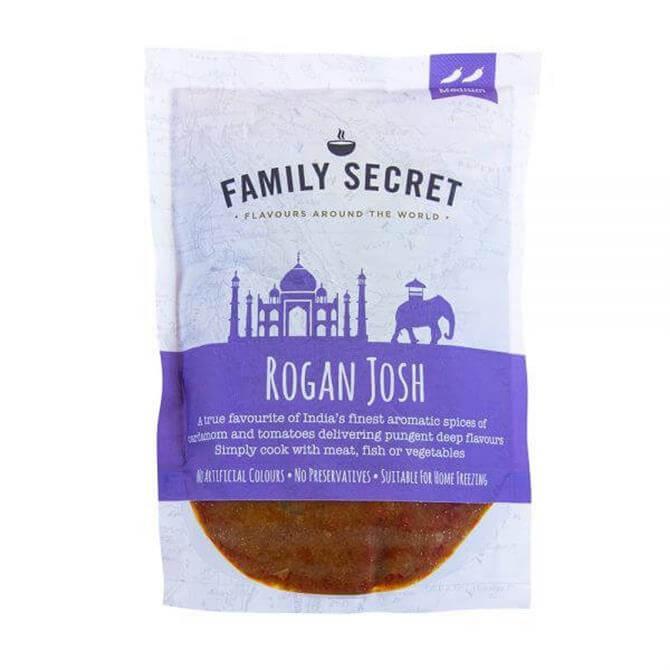 Family Secret Rogan Josh Curry Mix 300g
