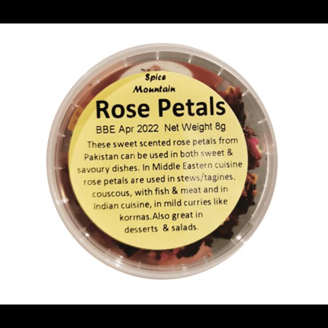 Spice Mountain Rose Petals 8g