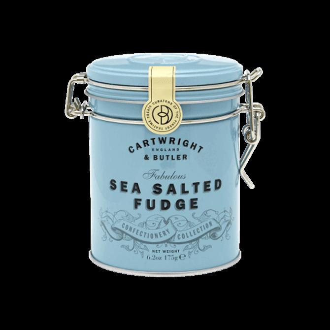 Cartwright & Butler Sea Salted Caramel Fudge in Tin 175g