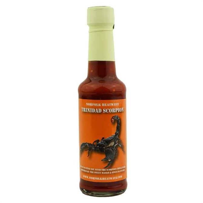 Norfolk Heatwave Trinidad Scorpion Chilli Sauce 150ml