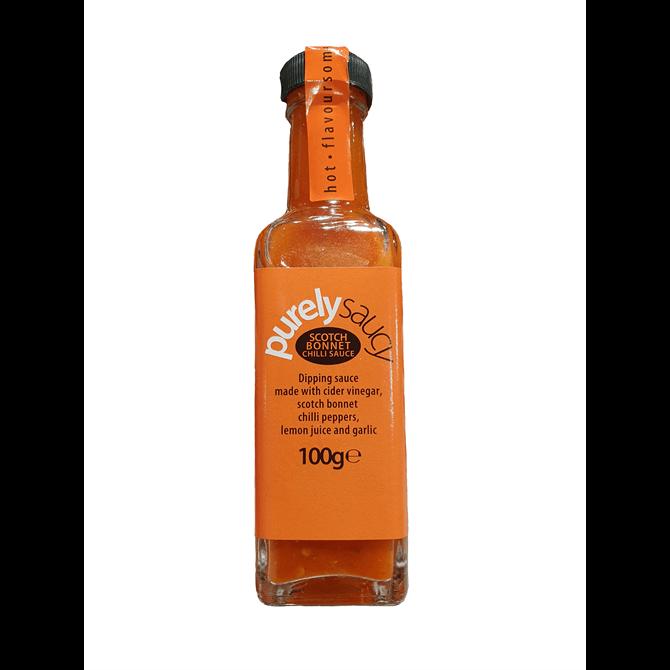 Purely Saucy Scotch Bonnet Chilli Sauce 100g