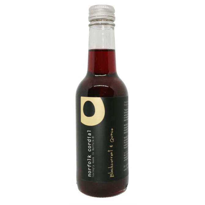 Norfolk Cordial Blackcurrant & Quince 250ml