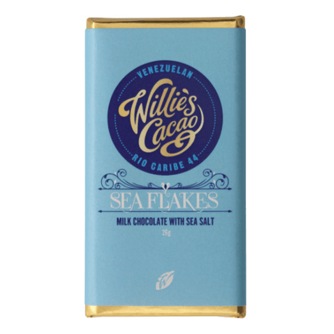 Willie's Cacao Sea Flakes Milk 26g