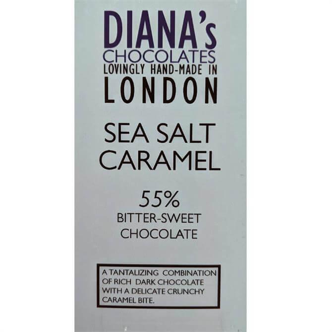 Diana's Chocolates Sea Salt Caramel Dairy Free 100g