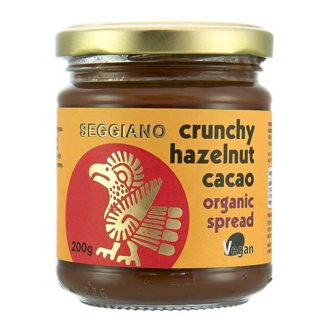 Seggiano Vegan Crunchy Hazelnut Cacao Organic Spread 200g