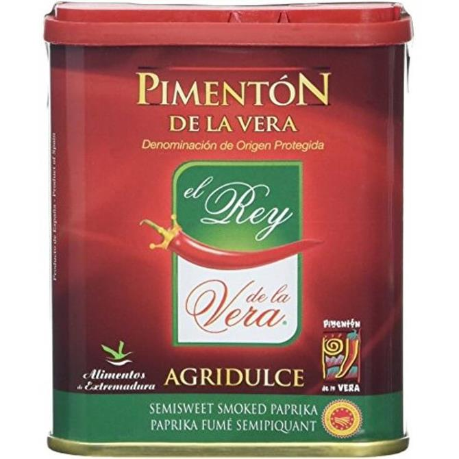 Pimenton De la Vera- Semi Sweet Smoked Paprika 75g