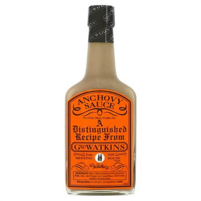 Geo Watkins Anchovy Sauce 190ml