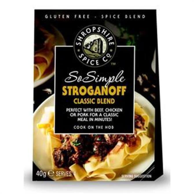 SO SIMPLE GLUTEN FREE STROGANOFF 40G