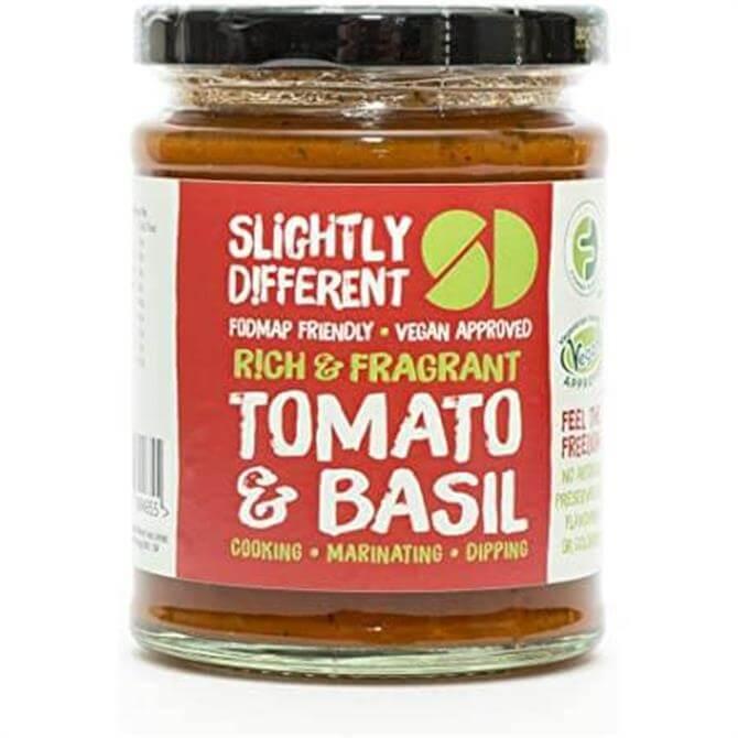 Slightly Different- Vegan Tomato and Basil Sauce 260g