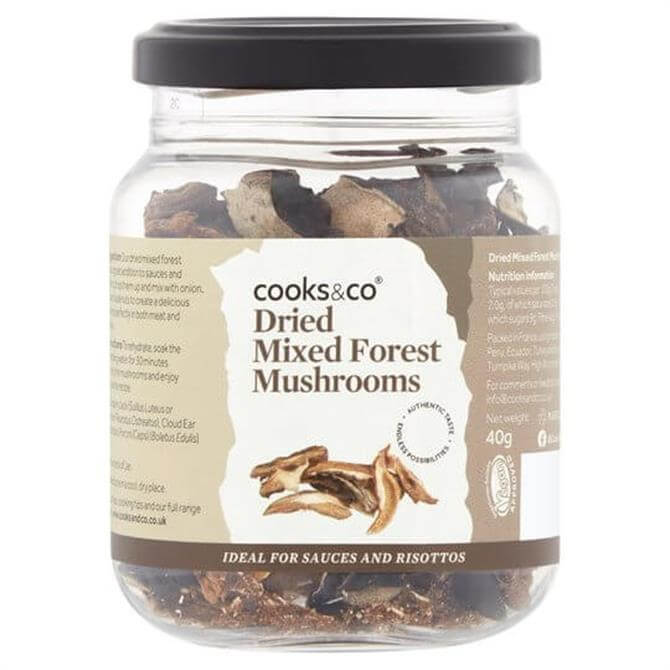 Cooks&Co Dried Mixed Forest Mushrooms 40G