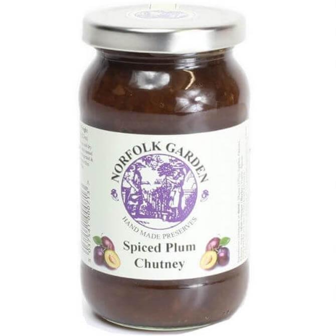 Norfolk Garden Preserved Spiced Plum Chutney 370g