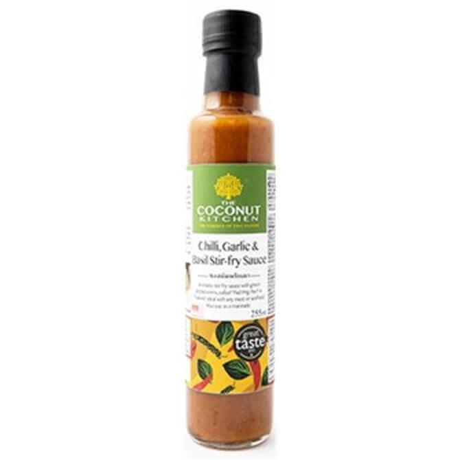 The Coconut Kitchen Chilli Garlic & Basil Stir-fry Sauce 250g