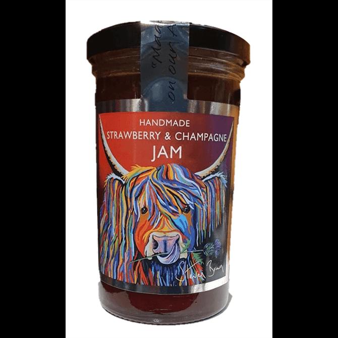 Sarah Gray's Handmade Strawberry & Champagne Jam 300g