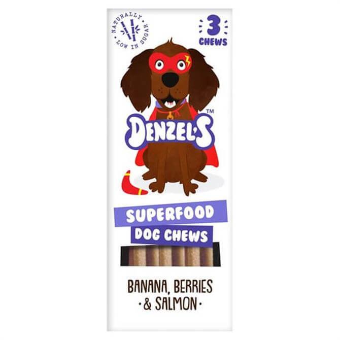 Denzel's Low Sugar Superfood Dog Chews 55g
