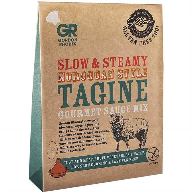 Gordon Rhodes Slow & Steamy Moroccan Style Tagine Gourmet Sauce Mix 75g