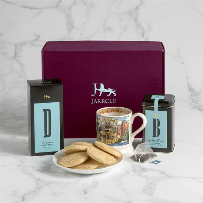 Jarrold 250 Celebration Tea & Biscuit Hamper