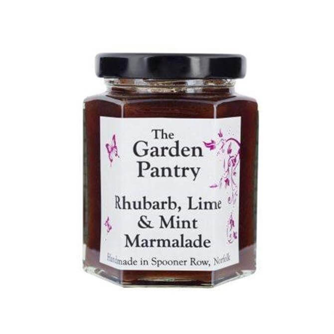 GARDEN PANTRY RHUBARB LIME AND MINT MARMALADE 200G