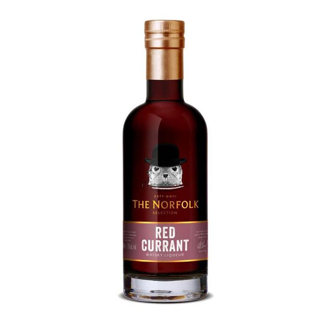 The Norfolk Redcurrent Whisky Liqueur 50cl