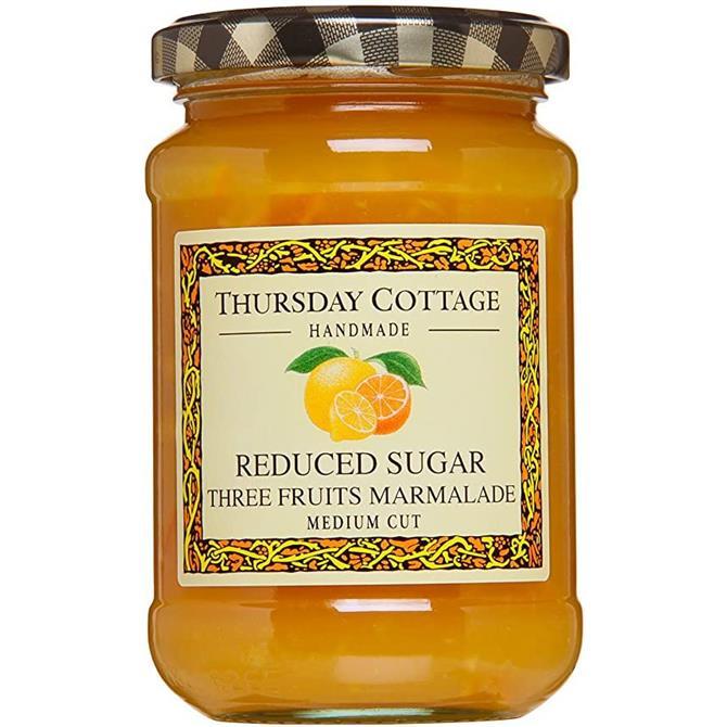 Thursday Cottage Reduced Sugar Three Fruits Marmalade 315g