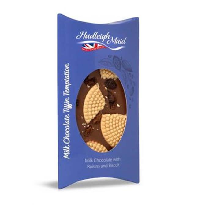 Hadleigh Maid Vegan Milk Chocolate Tiffin with Raisins & Biscuits 100g