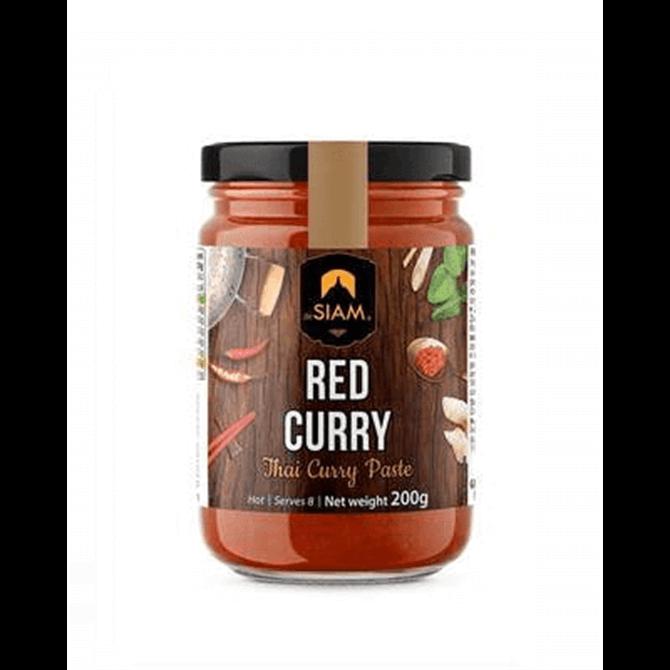 de Siam Red Thai Curry Paste 200g