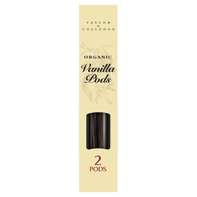 Taylor & Colledge Organic Vanilla Pods 4g