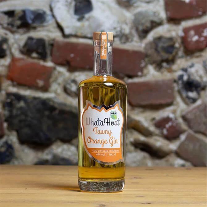 WhataHoot Tawny Orange Gin 70cl