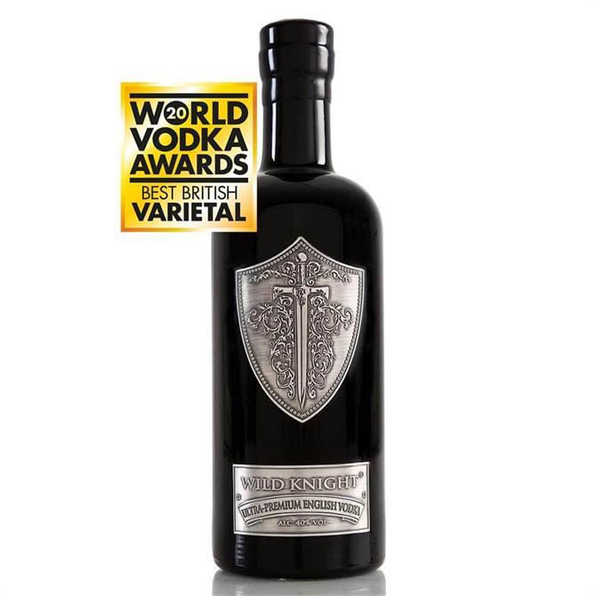 Wild Knight Ultra- Premium English Vodka 70cl