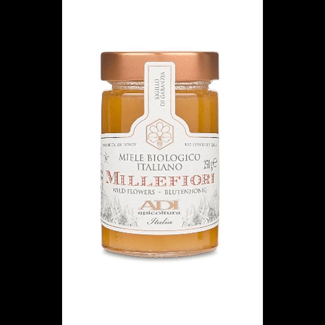 ADI Apicoltura Honey Organic Wildflower Honey 250g