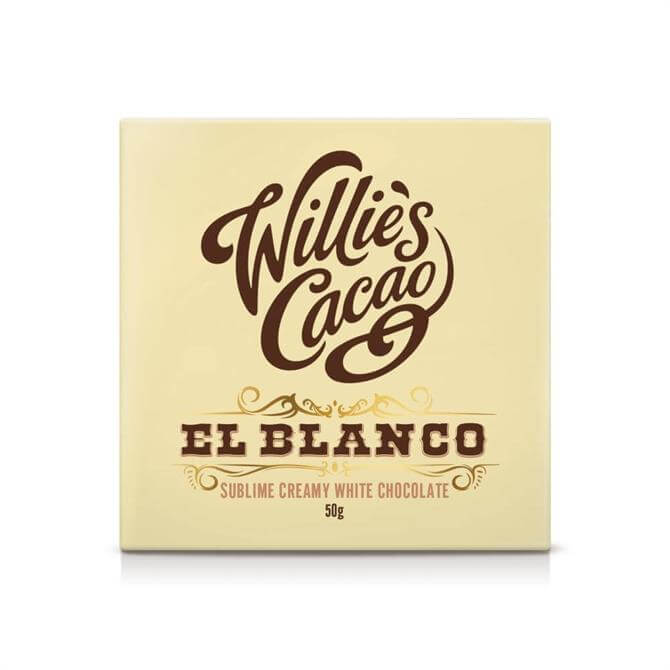 Willie's Cacao Gluten Free El Blanco Sublime Creamy White Chocolate 50g